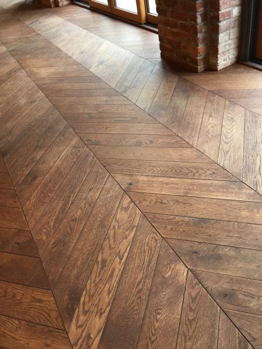 Custom Wide Plank Hardwood Flooring White Oak - Chilliwack