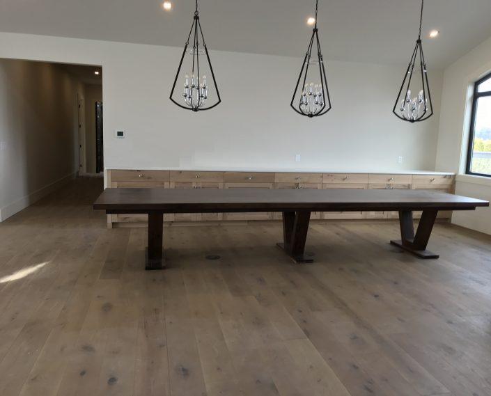 Custom Hardwood Walnut Tables