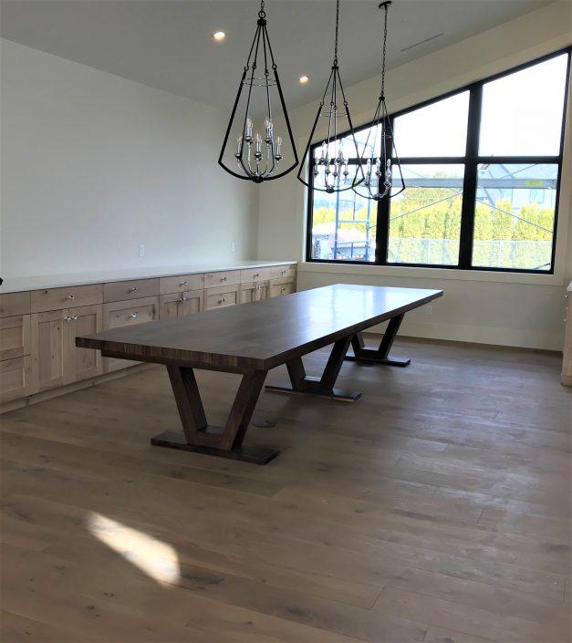 Custom Hardwood Black Walnut Tables