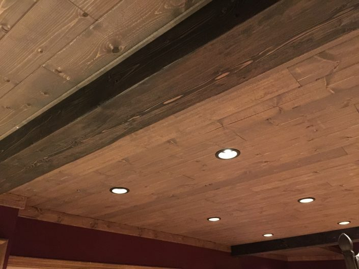 Wide Plank Hardwood | Beam Cladding