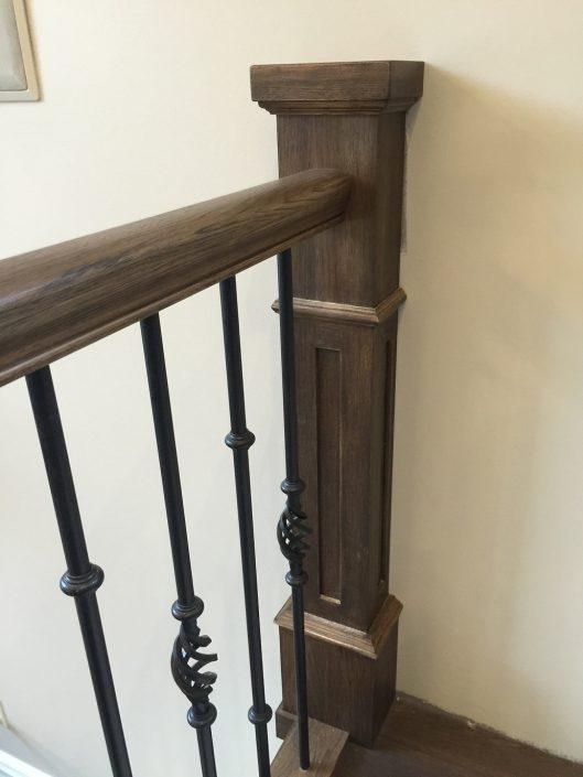 Hickory Hardwood Stair Posts