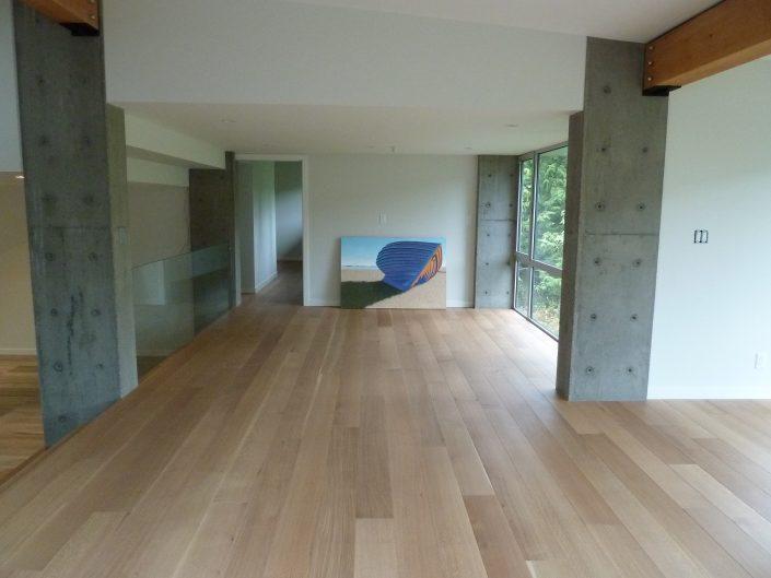 Custom Wide Plank Hardwood flooring White Oak - Langley