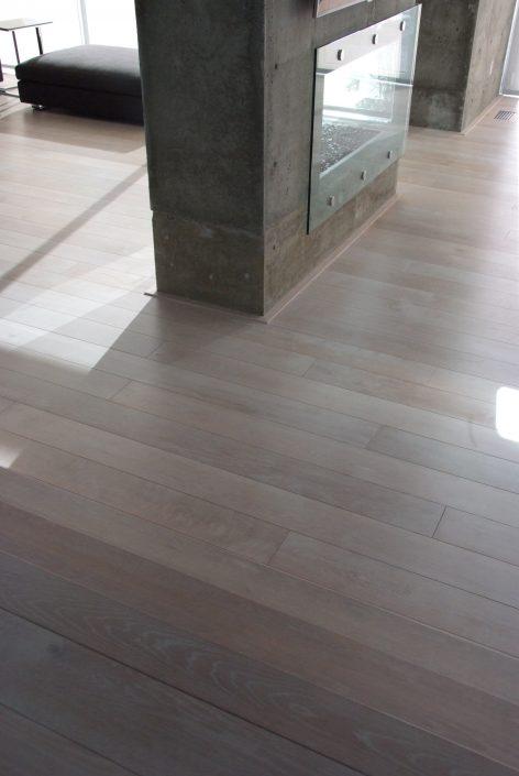 Engineered Custom Wide Plank Hardwood Flooring - Surrey
