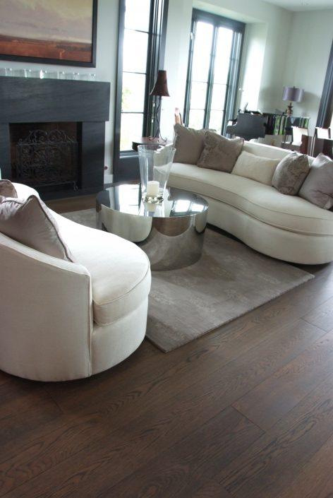 Custom Wide Plank Hardwood Flooring - Hope BC