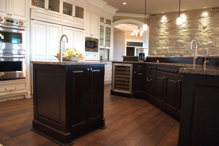 Engineered Custom Wide Plank Hardwood Flooring - Victoria