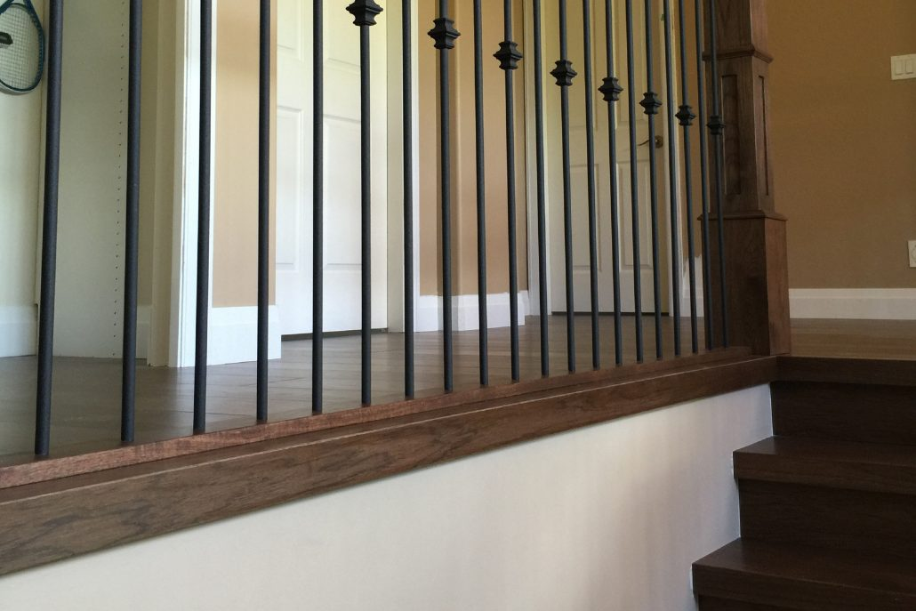 Custom Hardwood Nosings for Stair Treads