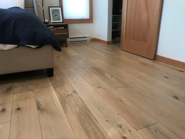 White Oak Custom Hardwood Floor - Whistler