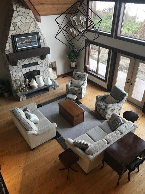Natural Douglas Fir Custom Hardwood Flooring - Vancouver Island